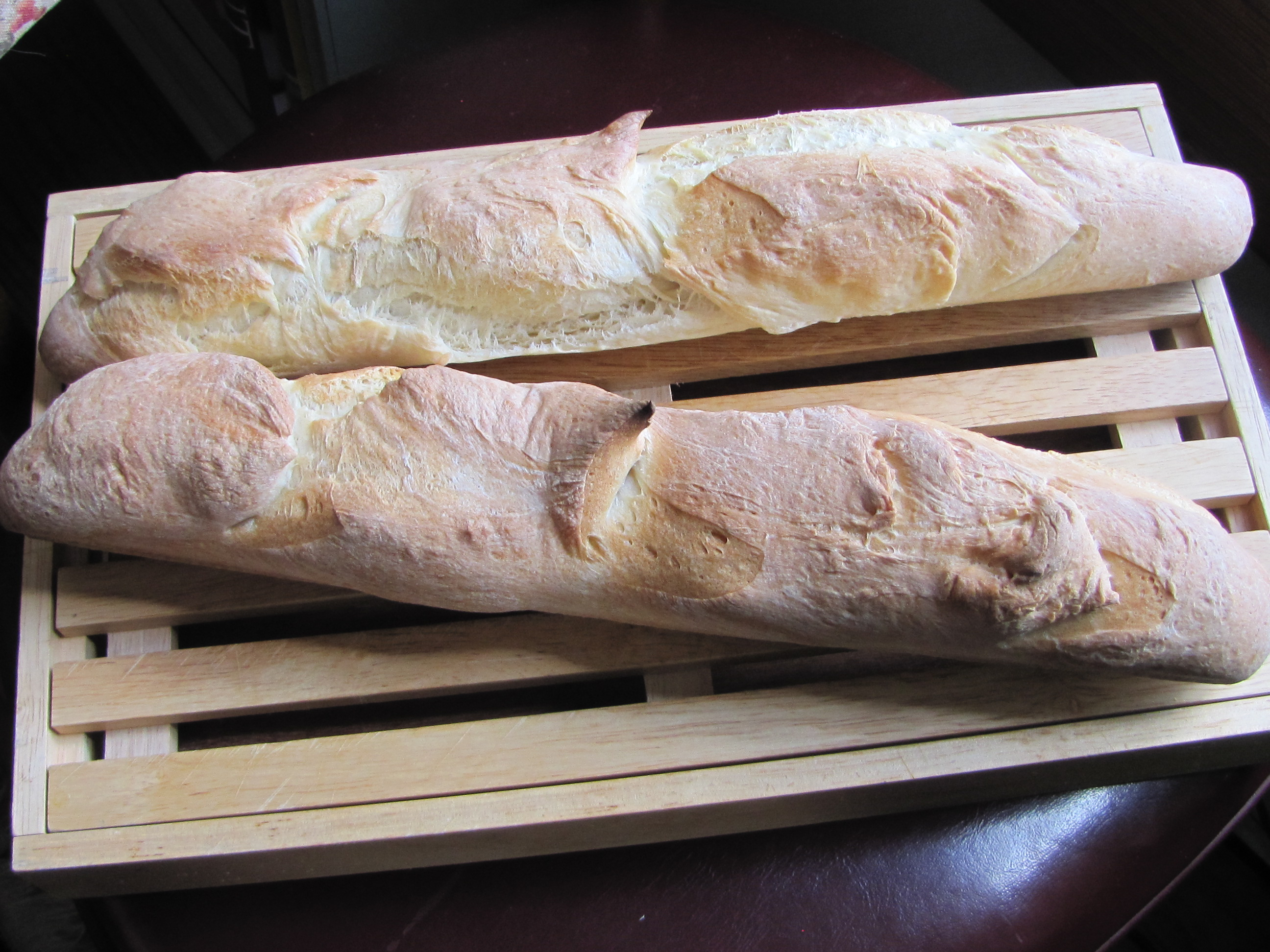 Baguettes àla your Bread Machine « The Kitchen Cousins