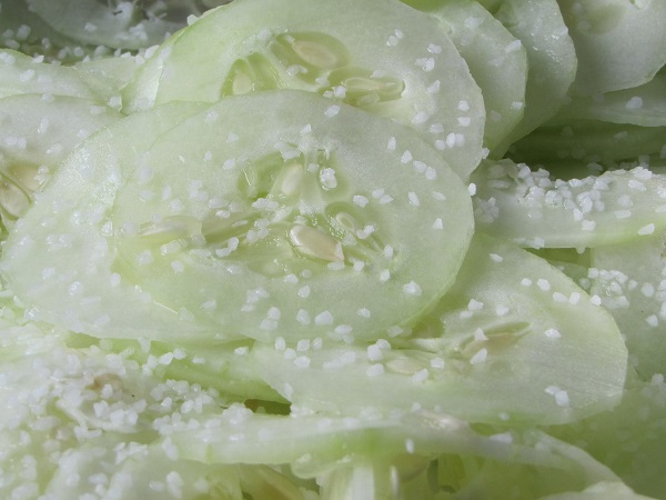 cucumbers salted small