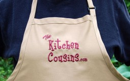 kitchen cousins apron