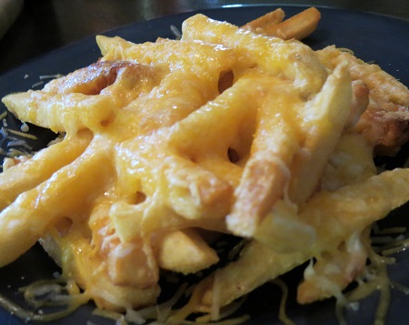 cheese on fries